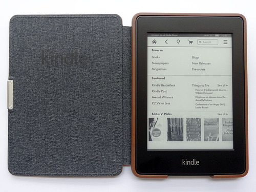 Kindle PaperWhite with cover